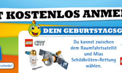 Geburtstagsgeschenk von Lego